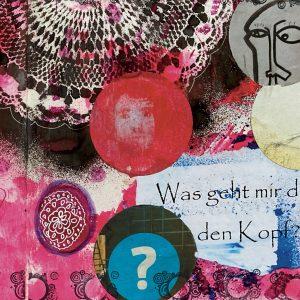 Copyright Doris Reich | Postkarte: Was geht mir durch den Kopf