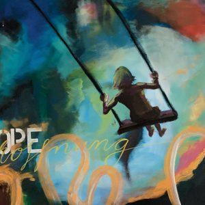 Copyright Doris Reich | Postkarte: Hope Schaukel